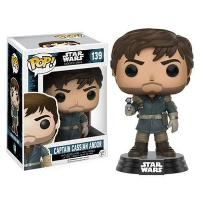 Figura Captain Cassian Andor Funko POP Rogue One Star Wars