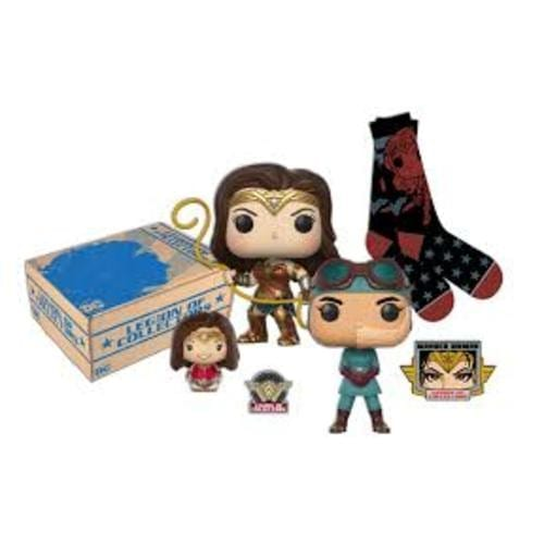 Caja Wonder Woman Funko Legion of Collector DC Comics