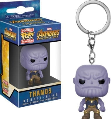 Llavero Thanos Funko POP Avengers Infinity War Marvel