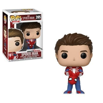 Figura Spiderman Funko POP Videojuego Spiderman 2018 Marvel sin Máscara
