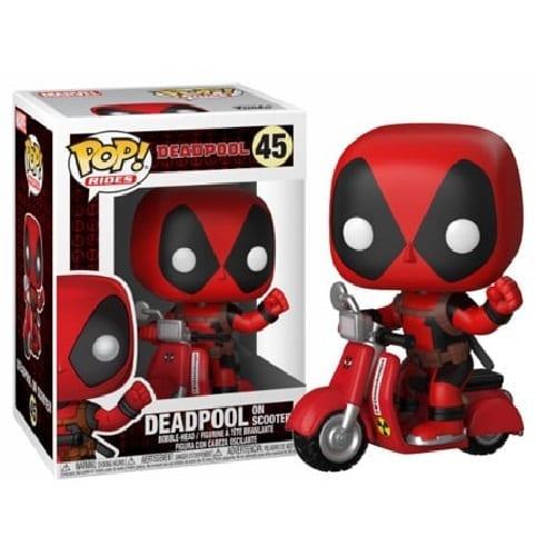 Figura Deadpool en Scooter Funko POP Deadpool Marvel