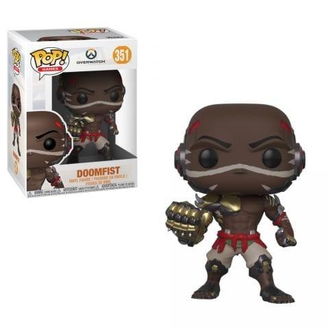 Figura Doomfist Funko POP Overwatch Videojuegos