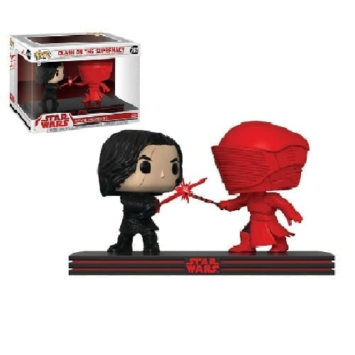 Figura Kylo Ren y Guardia Pretoriano Funko POP Moments Star Wars Momentos de pélicula
