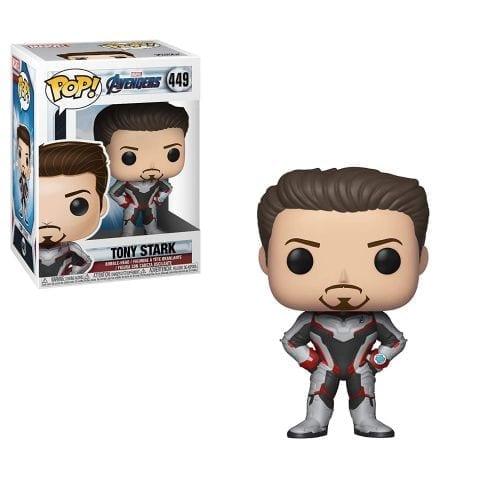 Figura Tony Stark Funko POP Avengers Endgame Marvel