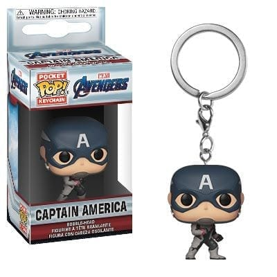Llavero Capitán América Endgame Funko POP Avengers Endgame Marvel
