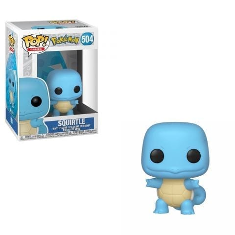 Figura Squirtle Funko POP Pokémon Anime