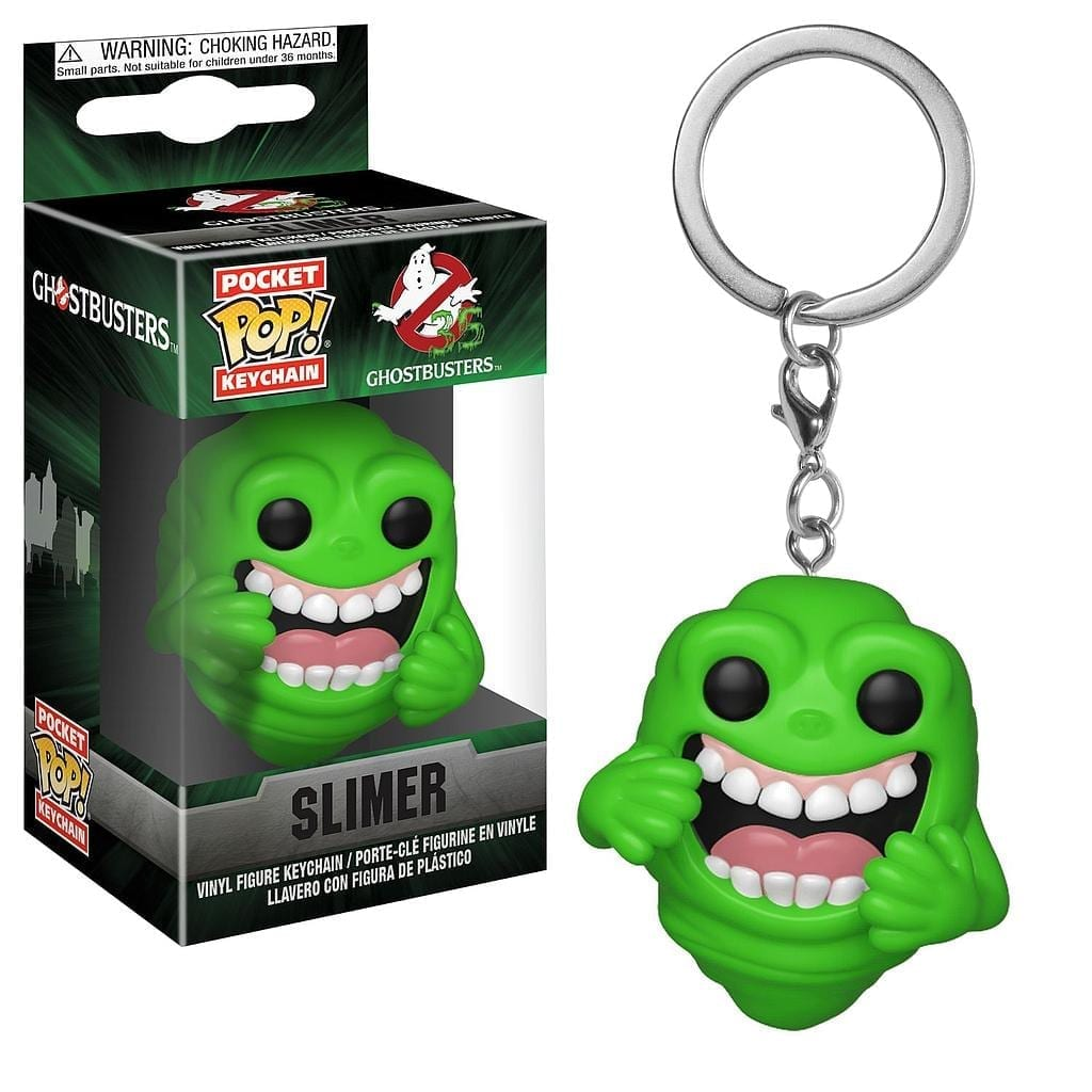Llavero Slimer Funko POP Ghostbusters Ciencia Ficción