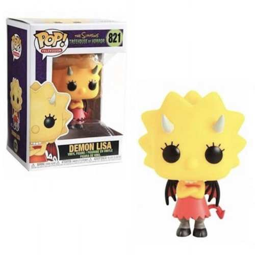 Figura Lisa Simpson Funko POP Los Simpson Casita del Horror Animados Lisa Demonio