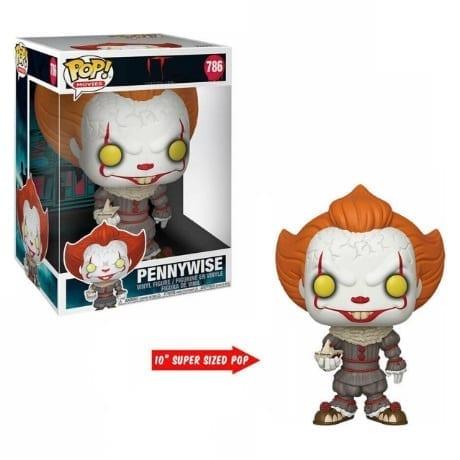 """Figura Pennywise con Bote Funko POP It Terror 10"""""""