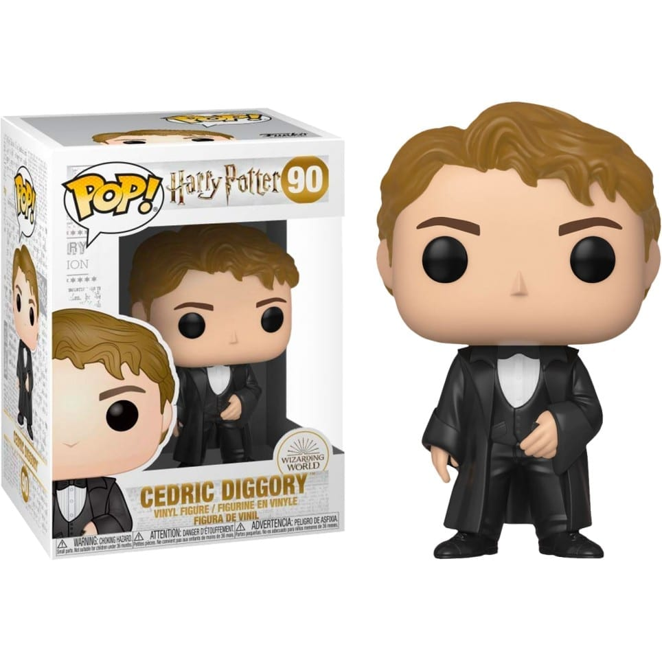 Figura Cedric Diggory Funko POP Harry Potter Fantasia