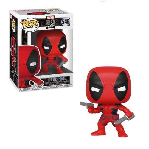 Figura Deadpool Funko POP Deadpool Marvel 80 Aniversario