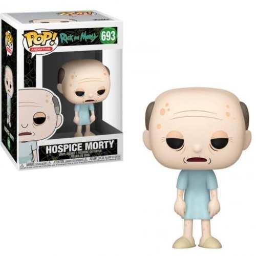 Figura Morty  Funko POP Rick and Morty Animados Anciano