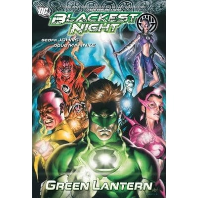 Cómic Blackest Night DC Comics Linterna Verde DC Comics ENG