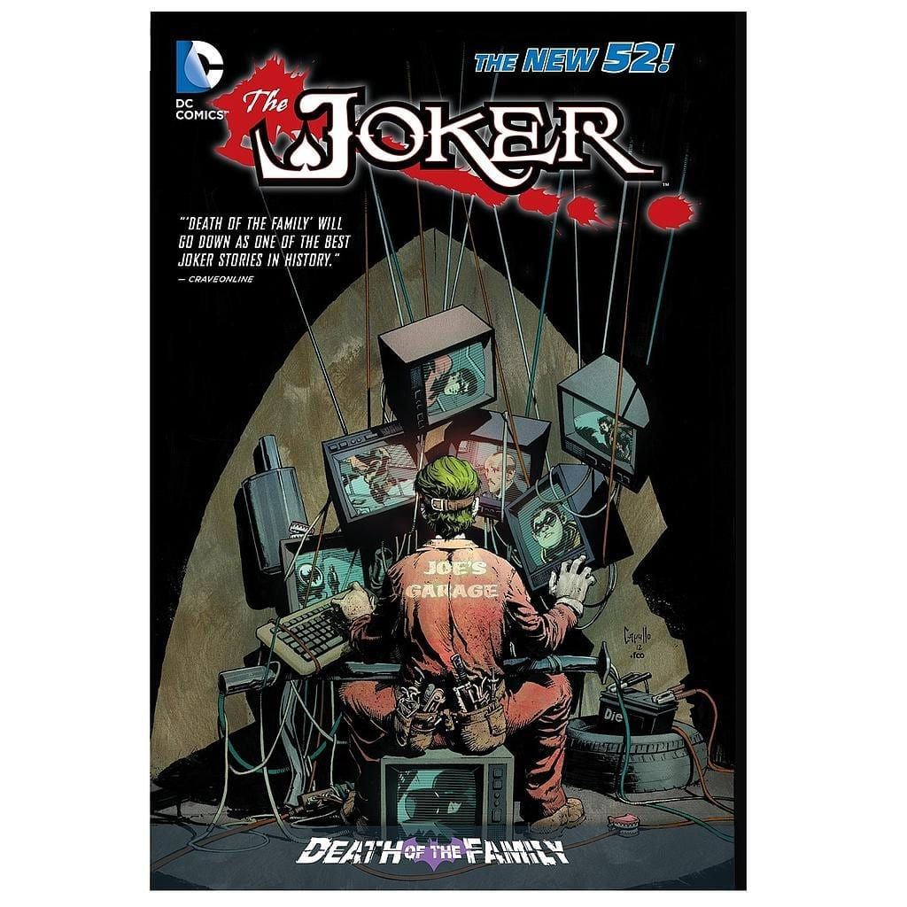 Cómic Joker The New 52 Death of the Family DC Comics ENG HC