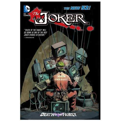 Cómic Joker The New 52 Death of the Family DC Comics ENG HC