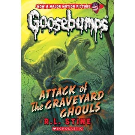 Libro Goosebumps Schoolastic Escalofrios Terror Attack of the Graveyard Ghouls ENG