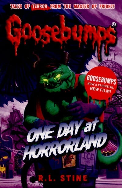 Libro Goosebumps Schoolastic Escalofrios Terror One Day at Horrorland ENG