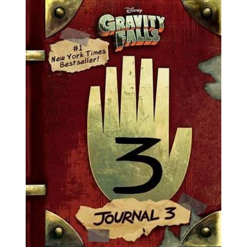 Libro Diario Numero 3 Press Gravity Falls Disney (ENG)