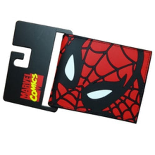 Billetera de Goma Spider Man PT Spider Man Marvel Máscara Completa (Copia)