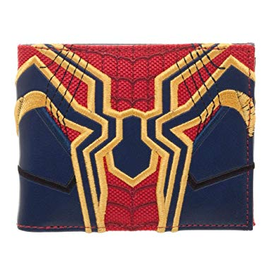 Billetera de Goma Traje Spider Man Infiniti War PT Spider Man Marvel (Copia)