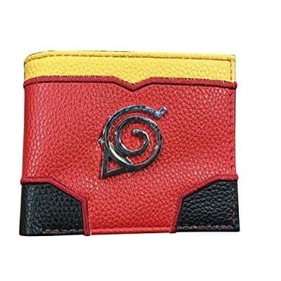 Billetera Emblema Aldea de la Hoja PT Naruto Anime (Copia)