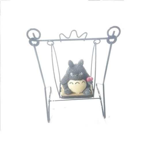 "Maqueta Columpio Totoro Studio Ghibli Anime Baby Story 6"""