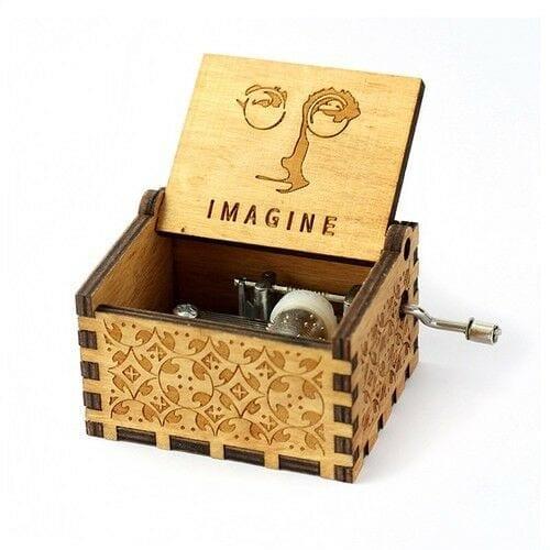 Caja musical Beatles PT The Beatles Músicos Imagine John Lennon