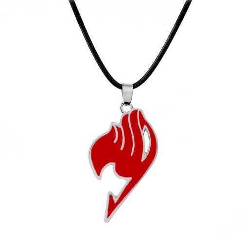 Collar Metálico Emblema Gremio PT Fairy Tail Anime