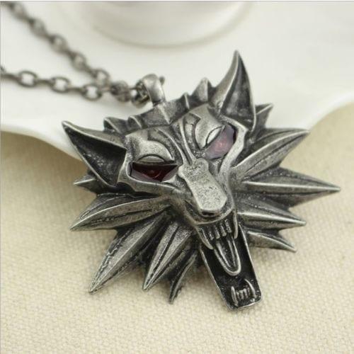 Collar Metálico Simbolo the Witcher Geralt de Rivia EB The Witcher Videojuegos