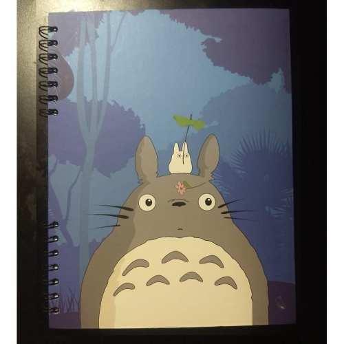 Cuaderno Cuadriculado Totoro Posim Studio Ghibli Anime Grande 22x25