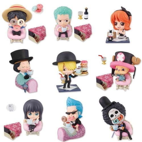 Figura Varios Petit Chara Land One Piece Anime (Unidad) (Copia) Mugiwara Fiesta del Te en Caja