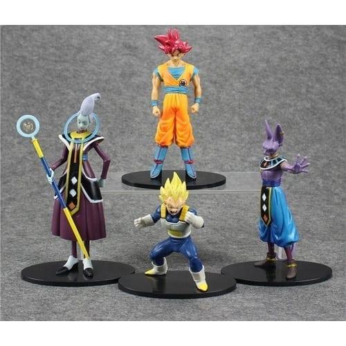 """Figura Personajes Varios PT Dragon Ball Anime 7"""" (Unidad) (Copia) Batalla de los Dioses"""