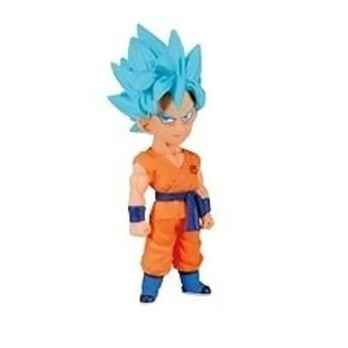 "Figura Goku SSJ Banpresto WFC Dragon Ball Anime 3"" Battle of the Gods"