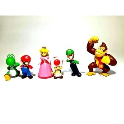 """Figura Personajes Varios PT Mario Bros Videojuegos sin Base 3"""""""