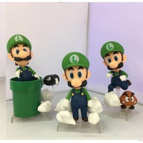 Figura Luigi Good Smile Nendoroid Mario Bros Videojuegos en Bolsa (Copia)