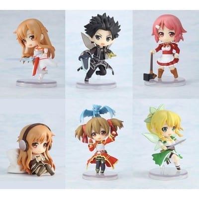 Figura SAO Toys Works Sword Art Online Anime Caja Sorpresa (Copia)