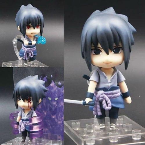 Figura Sasuke Good Smile Nendoroid Naruto Anime Varias poses en Bolsa (copia)