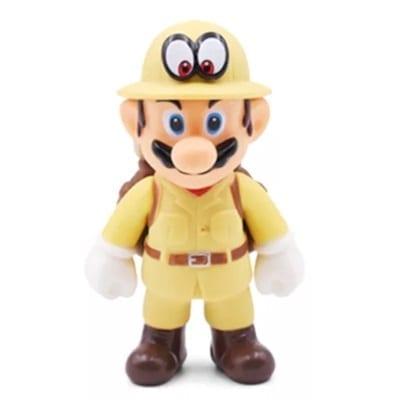 """Figura Mario Explorador Banpresto Mario Odissey Videojuegos 4"""" en Bolsa (Copia)"""