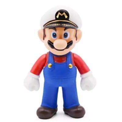 """Figura Mario Capitán Banpresto Mario Odissey Videojuegos 4"""" en Bolsa (Copia)"""