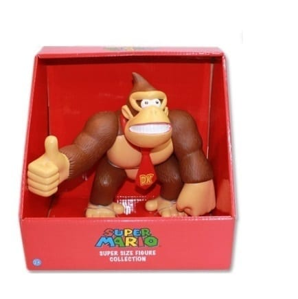 Figura Donkey Kong Super Size Collection Mario Bros Videojuegos 9""