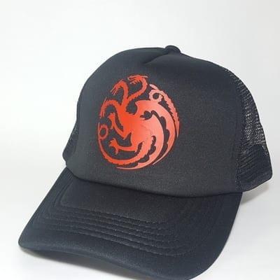 Gorra de Malla Casa Targaryen TooGEEK Juego de Tronos Series