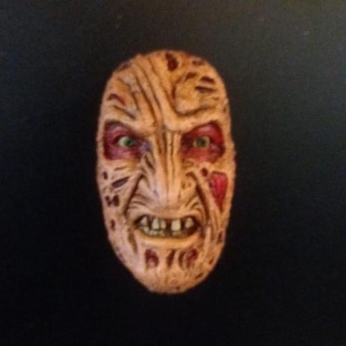 Imán Freddy Krueger Rotten Kidney Skull Magnet A Nightmare on Elm Street Terror