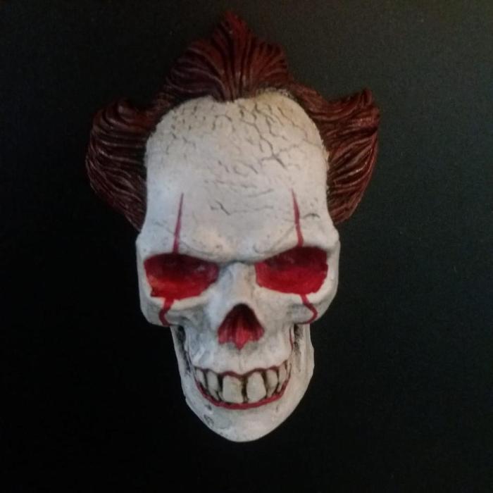 Imán Pennywise Rotten Kidney Skull Magnet IT Terror