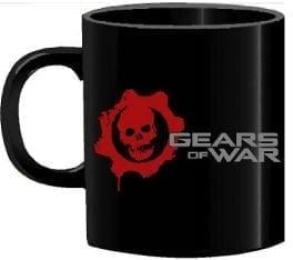 Mug Tallado Logo Gears of Wars TooGEEK Gears of War Videojuegos