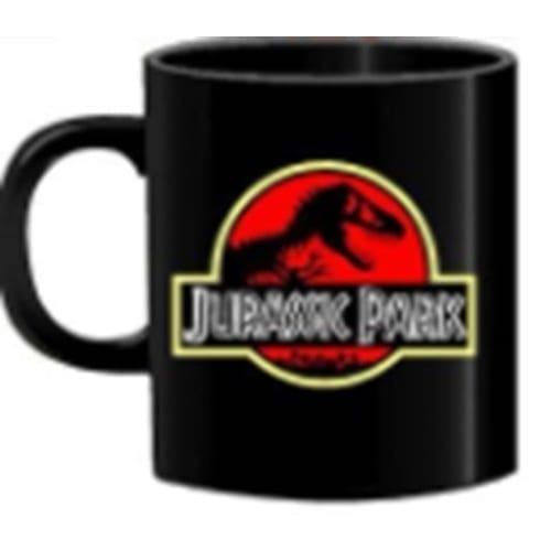 Mug Tallado TooGEEK Jurassic Park Ciencia Ficción Logo