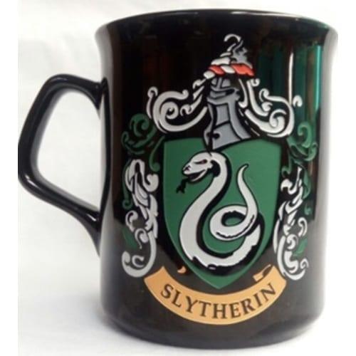 Mug Tallado Slytherin TooGEEK Harry Potter Fantasia Logo