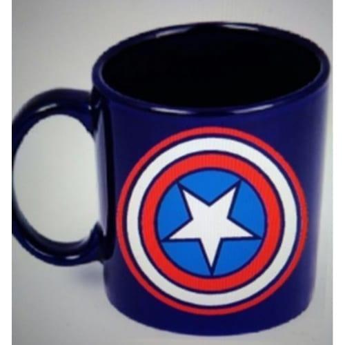 Mug Tallado Capitán América TooGEEK Marvel Escudo