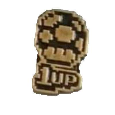 Pin Metálico Hongo 1UP TooGEEK Mario Bros Videojuegos