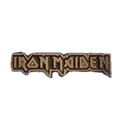 Pin Metálico Iron Maiden TooGEEK Iron Maiden Músicos Logo