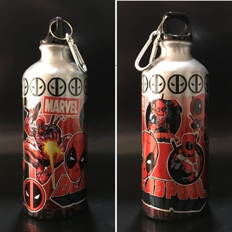 Botella Metálica Deadpool Jaimito Deadpool Marvel